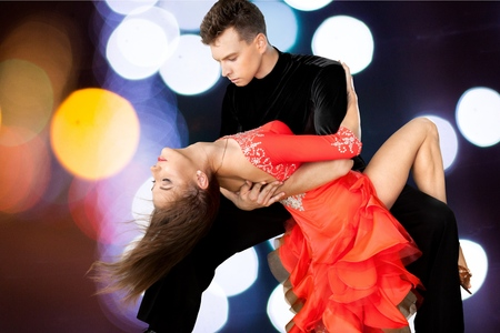 Photo for Salsa Dancing, Dancing, Couple. - Royalty Free Image
