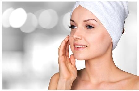 Photo pour Microdermabrasion, Peel, Beauty Treatment. - image libre de droit