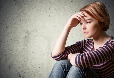 Foto de Depression, Teenager, Sadness. - Imagen libre de derechos