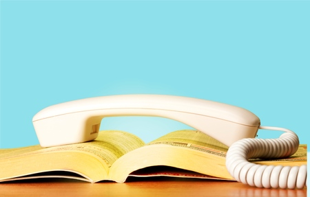 Foto de Telephone Directory, Yellow Pages, Yellow. - Imagen libre de derechos