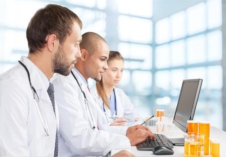 Foto de Laboratory, Computer, Doctor. - Imagen libre de derechos