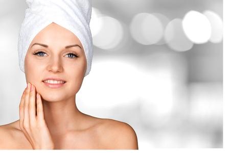 Foto de Microdermabrasion, Peel, Beauty Treatment. - Imagen libre de derechos