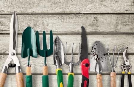 Photo pour Gardening Equipment, Gardening, Work Tool. - image libre de droit