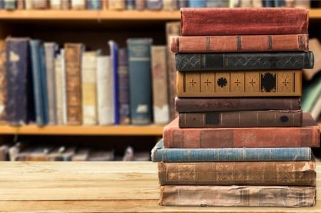 Foto de Books, old, stacked. - Imagen libre de derechos