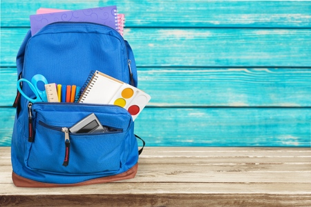 Photo pour Backpack, school, bag. - image libre de droit