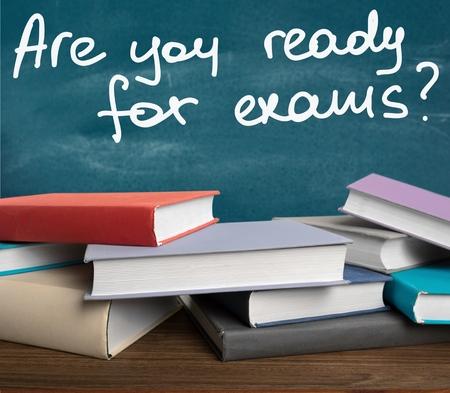 Photo pour Exam, student, stress. - image libre de droit