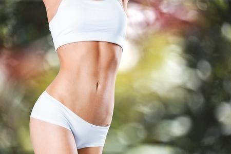 Foto de Slim, slimming, bikini. - Imagen libre de derechos