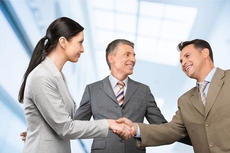 Photo pour Agreement, body, business. - image libre de droit