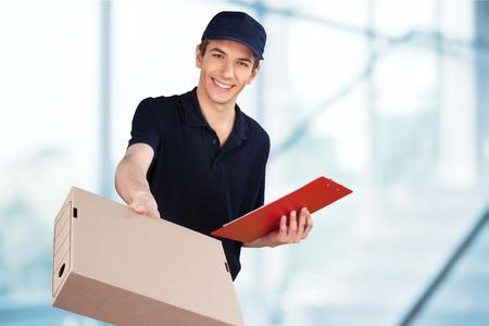 Photo pour Delivering. - image libre de droit