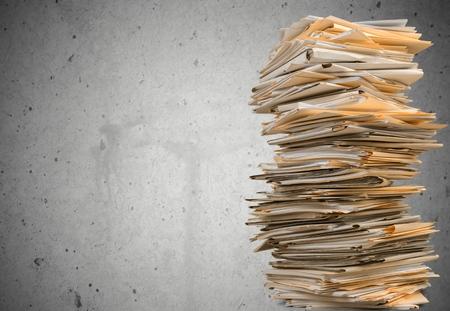 Photo pour Document. - image libre de droit