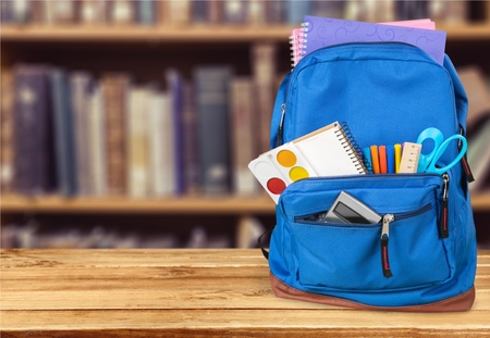 Photo pour Backpack. - image libre de droit