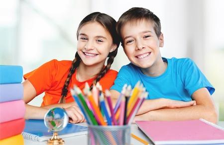 Foto de School children. - Imagen libre de derechos