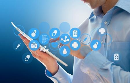 Photo pour Health data. - image libre de droit