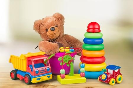 Foto de Kid toys. - Imagen libre de derechos