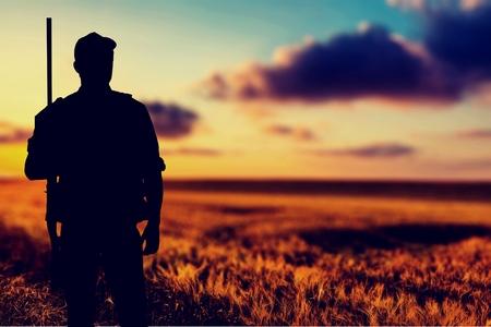 Photo pour Hunting. - image libre de droit