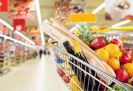 Photo pour Supermarket. - image libre de droit