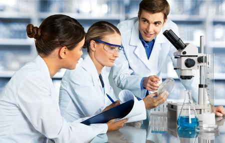 Foto de Laboratory Scientists. - Imagen libre de derechos
