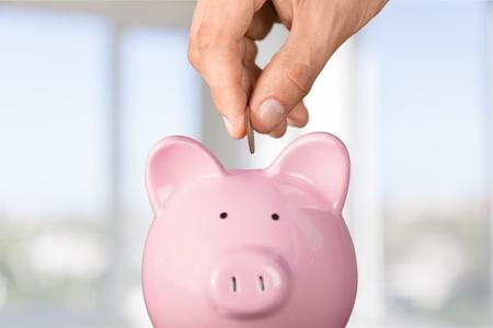 Foto de Piggy Bank. - Imagen libre de derechos