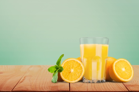 Photo pour Orange Juice. - image libre de droit