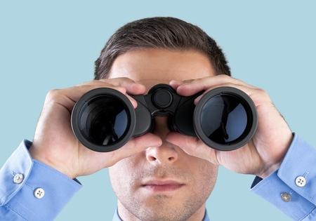Photo pour Binoculars. - image libre de droit
