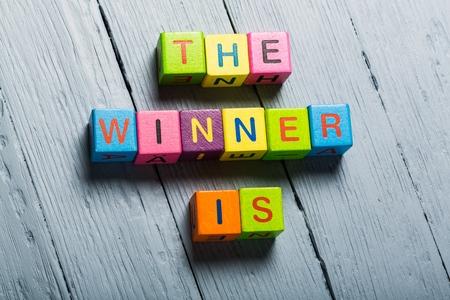 Photo pour Winner. - image libre de droit