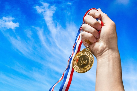 Foto de Medal. - Imagen libre de derechos