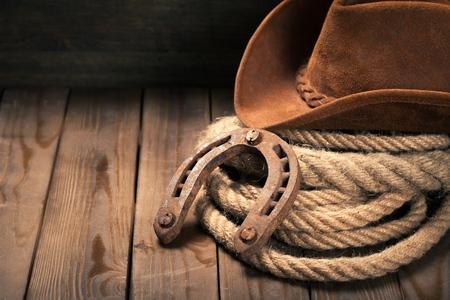 Foto de Cowboy. - Imagen libre de derechos