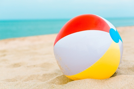 Photo for Beach Ball. - Royalty Free Image