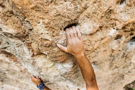 Foto de Climbing. - Imagen libre de derechos