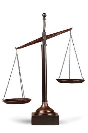 Photo pour Scales of Justice. - image libre de droit