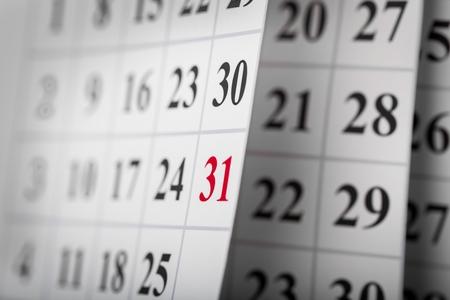 Foto de Calendar. - Imagen libre de derechos