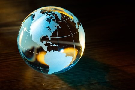 Foto de Globe. - Imagen libre de derechos