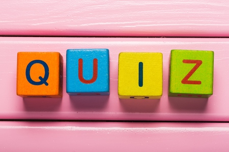 Photo for Quiz. - Royalty Free Image