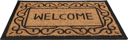Foto per Doormat. - Immagine Royalty Free