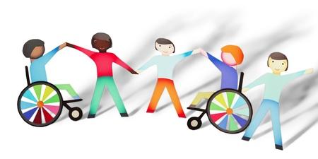 Photo pour Disabled. - image libre de droit