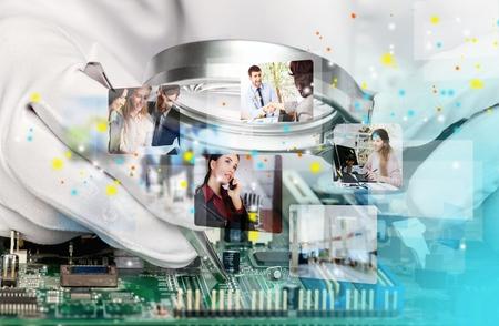 Photo pour Semiconductor. - image libre de droit