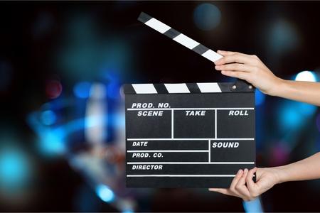 Foto de Film slate. - Imagen libre de derechos