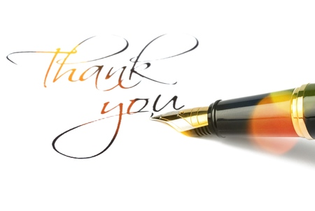 Photo for Thank you. - Royalty Free Image