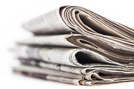 Foto de Pile of newspapers - Imagen libre de derechos