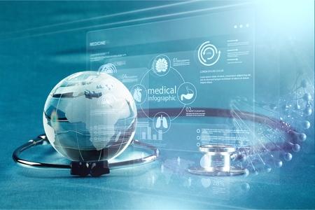 Photo pour Global healthcare - image libre de droit