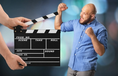 Photo for movie clapper board - Royalty Free Image