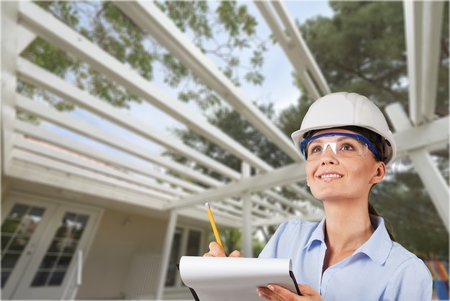 Photo for Female Engineer/Inspector - Royalty Free Image