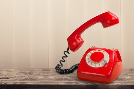Photo for Vintage rotary phone - Royalty Free Image