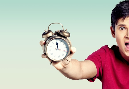 Foto de Upseting Time - Imagen libre de derechos