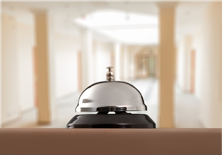 Photo pour Service bell at the hotel - image libre de droit