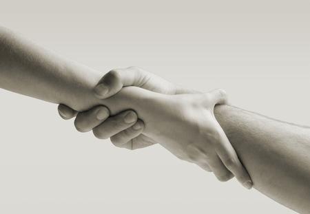 Foto de Giving a helping hand - Imagen libre de derechos