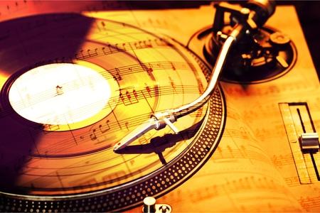 Foto de Retro record single - Imagen libre de derechos