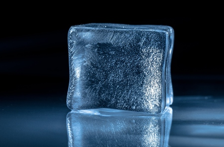 Photo for Frozen ice Cube - Royalty Free Image