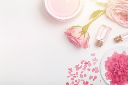 Foto de Skin care product framed aromatic - Imagen libre de derechos