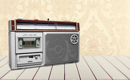 Foto de Retro radio - Imagen libre de derechos